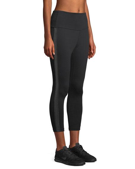 Fit and Trim Capri Leggings w/ Side Trim