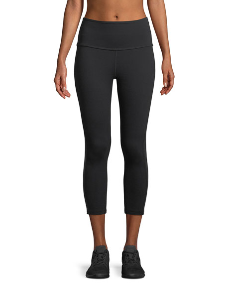 Beyond Yoga Fit and Trim Capri Leggings w/