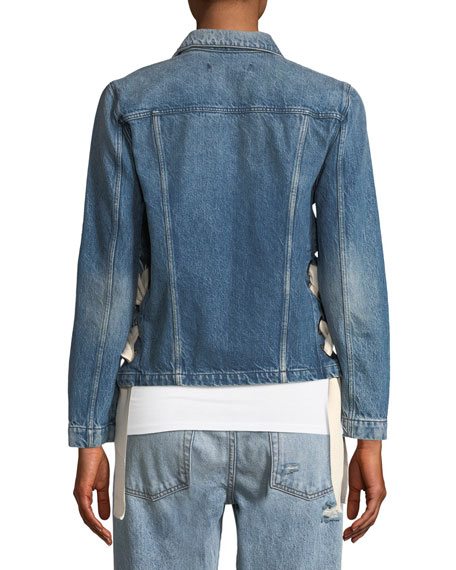 WJ Hollow Denim Jacket
