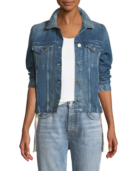 3x1 WJ Hollow Denim Jacket