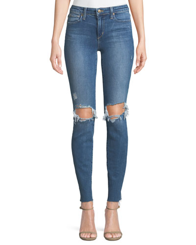 Distressed Icon Skinny Jeans