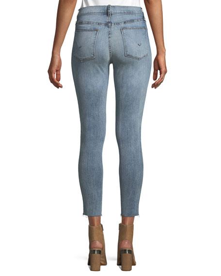 Barbara High-Waist Super-Skinny Jeans