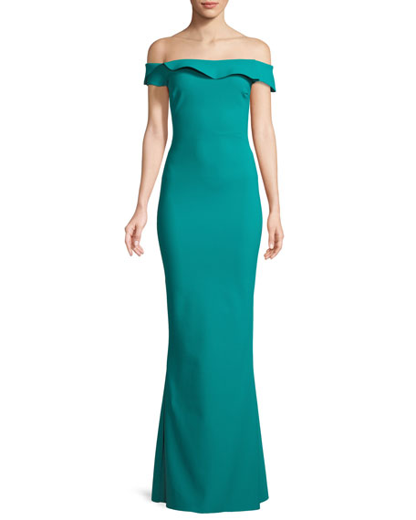 Chiara Boni La Petite Robe Zaina Off-the-Shoulder Mermaid