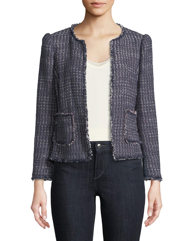 6de2361999b6 Rebecca Taylor Multi-Tweed Jacket | Neiman Marcus