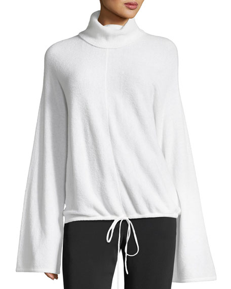 A.L.C. Hemingway Bell-Sleeve Wool-Blend Sweater