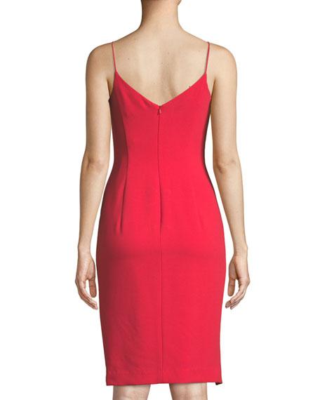 Mystic Bow-Detail Sleeveless Dress