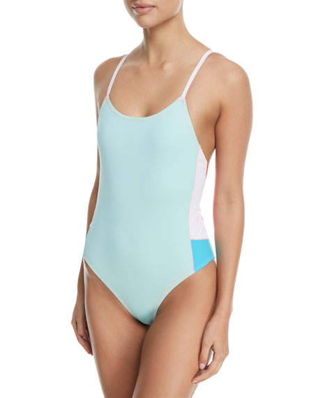 Harlow Colorblocked One-Piece Swimsuit