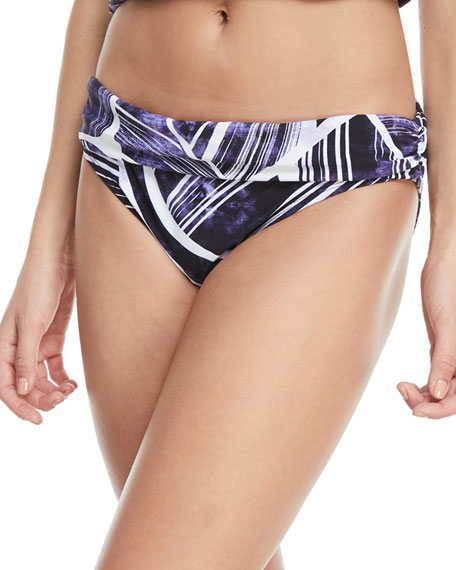Bali Shirred Band Hipster Swim Bottoms