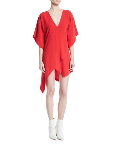 Ekima High-Low Mini Dress