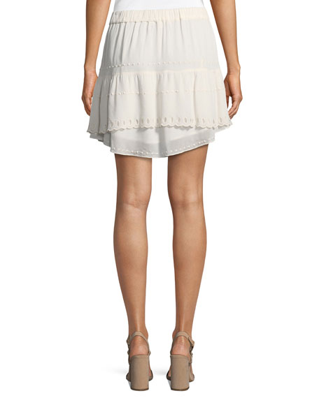 Pabey A-Line Short Skirt