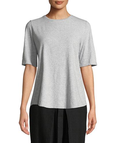 Slubby Organic Cotton Tee Shirt