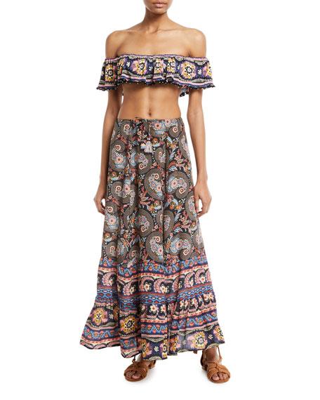Chantal Printed Skirt