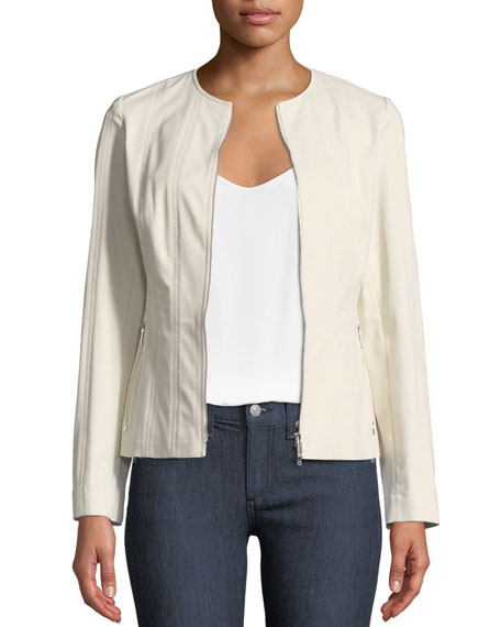 Lafayette 148 New York Courtney Fundamental Bi-Stretch Jacket