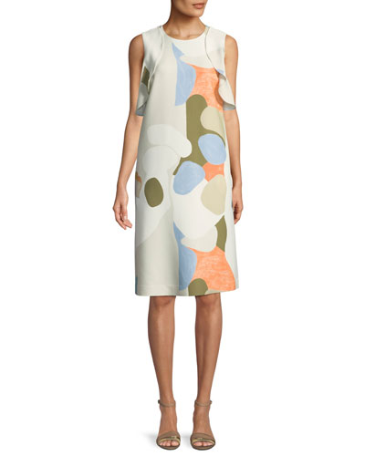 Kaydence Landscape Expression Shift Dress