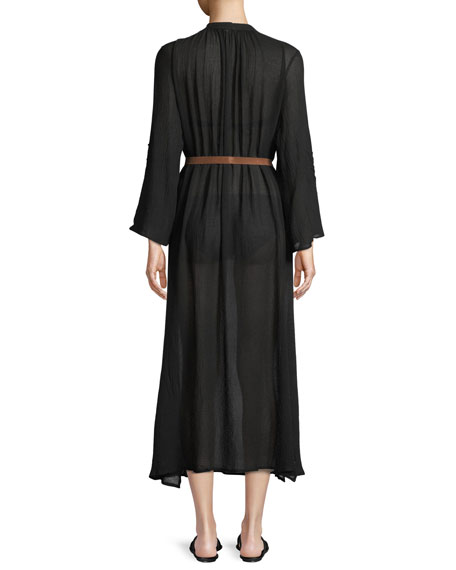 Summer of Love Haven A-Line Maxi Coverup Dress