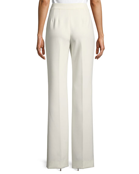 Bella Mid-Rise Double Weave Pants