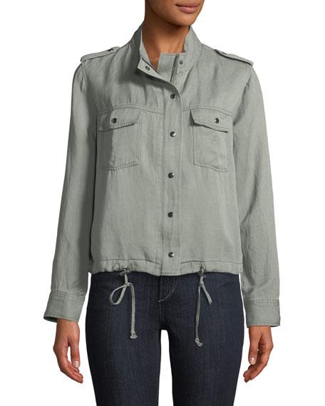 Collins Zip-Front Utility Jacket