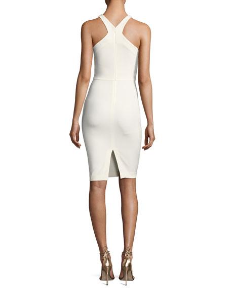 Carolyn Halter-Neck Sheath Dress
