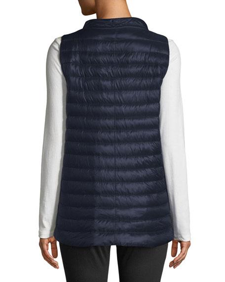 Classic Channel-Quilt Nylon Vest