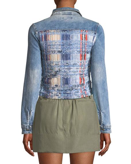 Gloria Boucle/Denim Jacket
