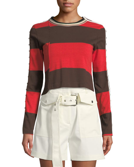 3.1 Phillip Lim Belted Cargo Shorts and Matching
