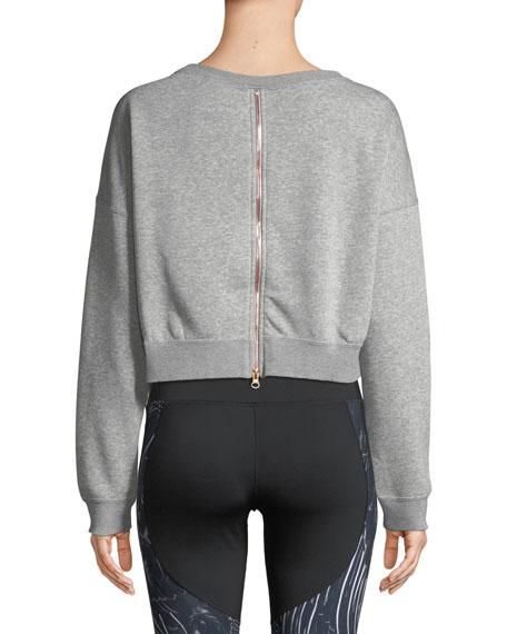 Nike Air Cropped Athletic Sweatshirt