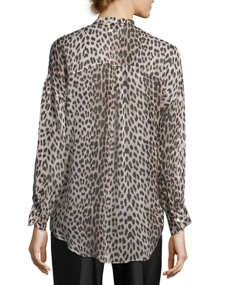 Savage Vanity Silk Oversized Shirt