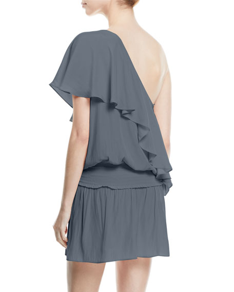 Emilia One-Shoulder Short Dress