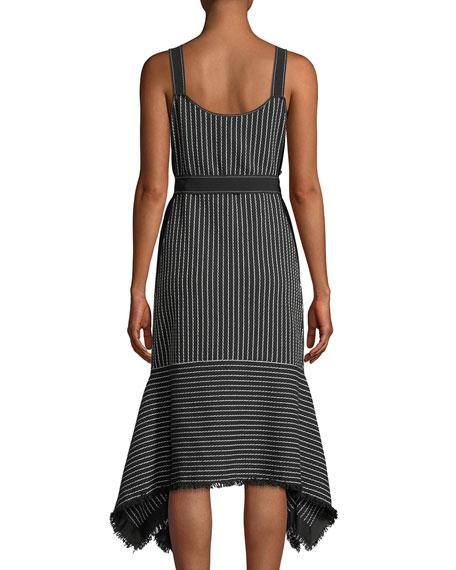 Striped V-Neck Cami Dress
