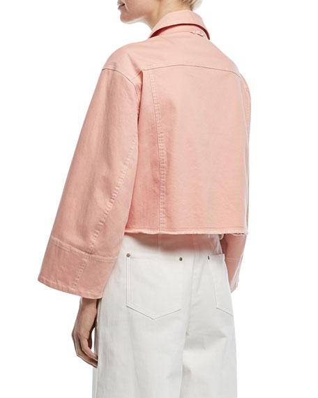 Branson Cropped Boxy Denim Jacket