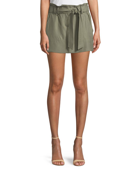 Ramy Brook Eloise Twill Mini Skirt
