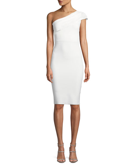 Chiara Boni La Petite Robe Dedy Asymmetric One-Shoulder