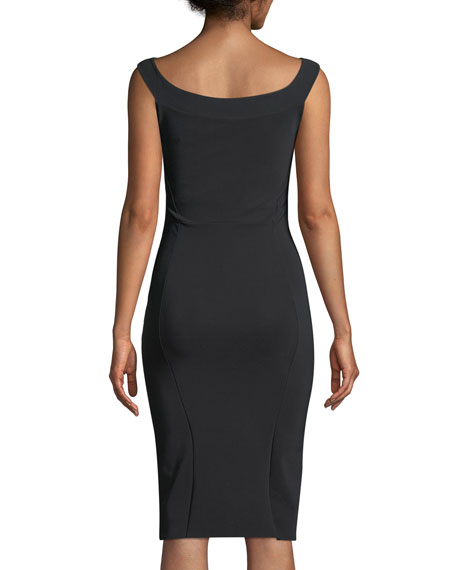 Delina Cutout Sleeveless Dress