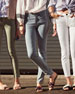 The Stiletto Skinny Jeans with Released Hem