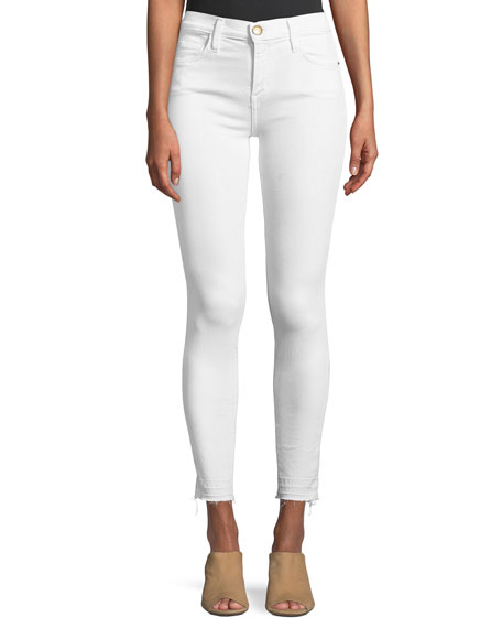 Current/Elliott The Stiletto Skinny Jeans with Released Hem