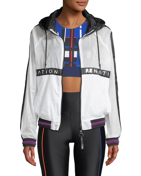 PE Nation Two-Klicks Zip-Front Jacket