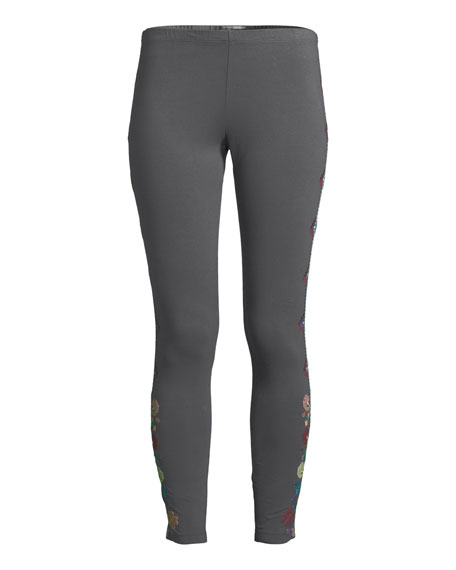 Voltage Embroidered Leggings