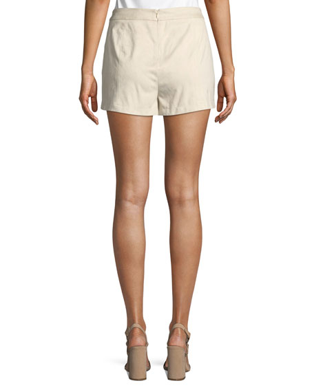 Esley Lace-Up Shorts