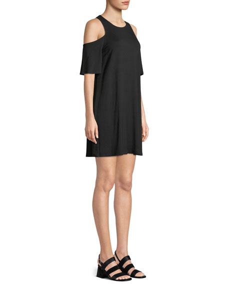 Hyde Cold Shoulder Mini T-Body Dress