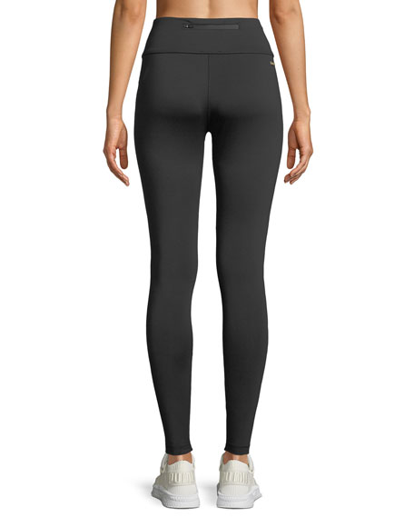 Patchwork Colorblock Performance Leggings