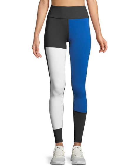 Alala Patchwork Colorblock Performance Leggings