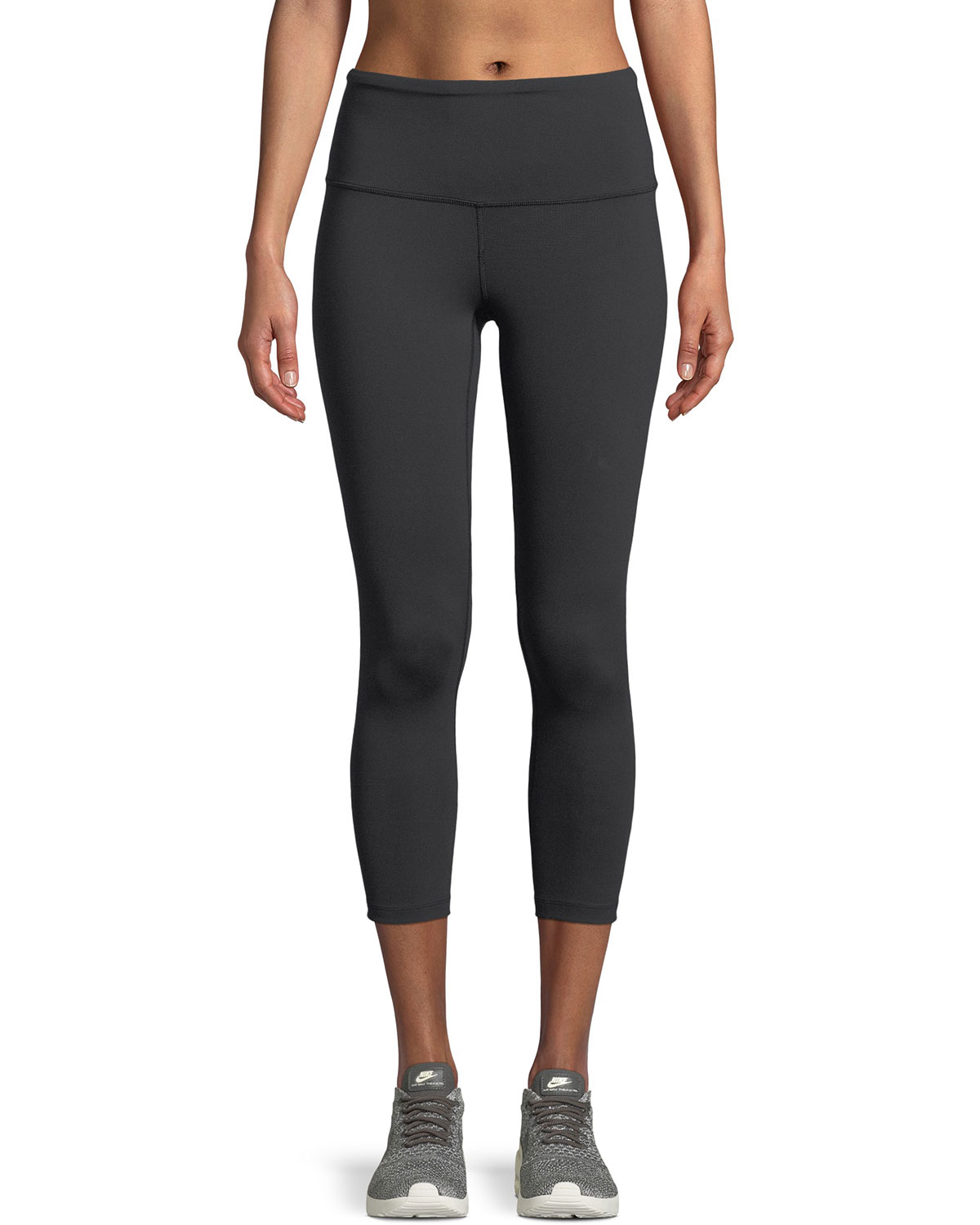 b42affead1 The North Face Motivation High-Rise Cropped Performance Leggings ...