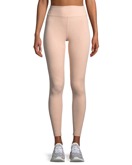 Drive High-Rise Jacquard Performance Leggings