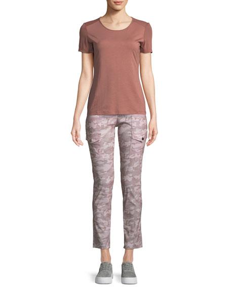 Kate Slim Rose Camo Cargo Pants