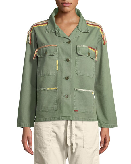The Sergeant Button-Down Cotton Jacket