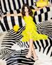 Olympia Asymmetric Ruffle Dress
