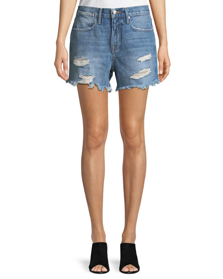 Le Stevie Denim Shorts