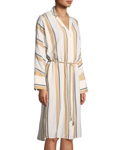 Calleigh Vienna Stripe Duster Dress