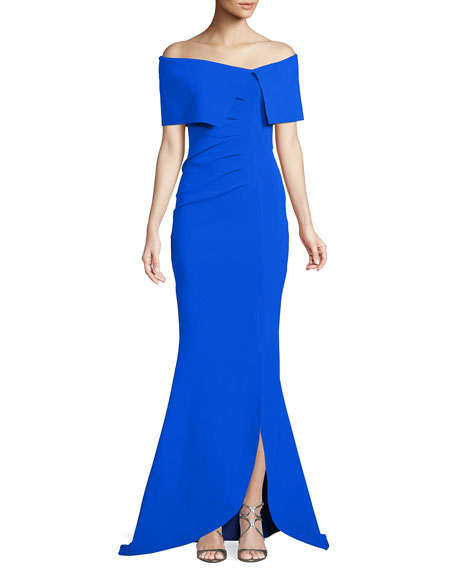 Chiara Boni La Petite Robe Egida Asymmetric Off-the-Shoulder