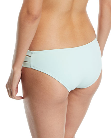 Emelia Triple-Strap Swim Bikini Bottom